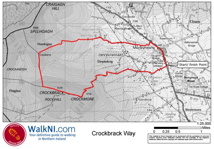 Crockbrack Way route map.PNG
