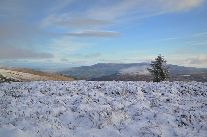 Sperrins in the snow, County Tyrone
