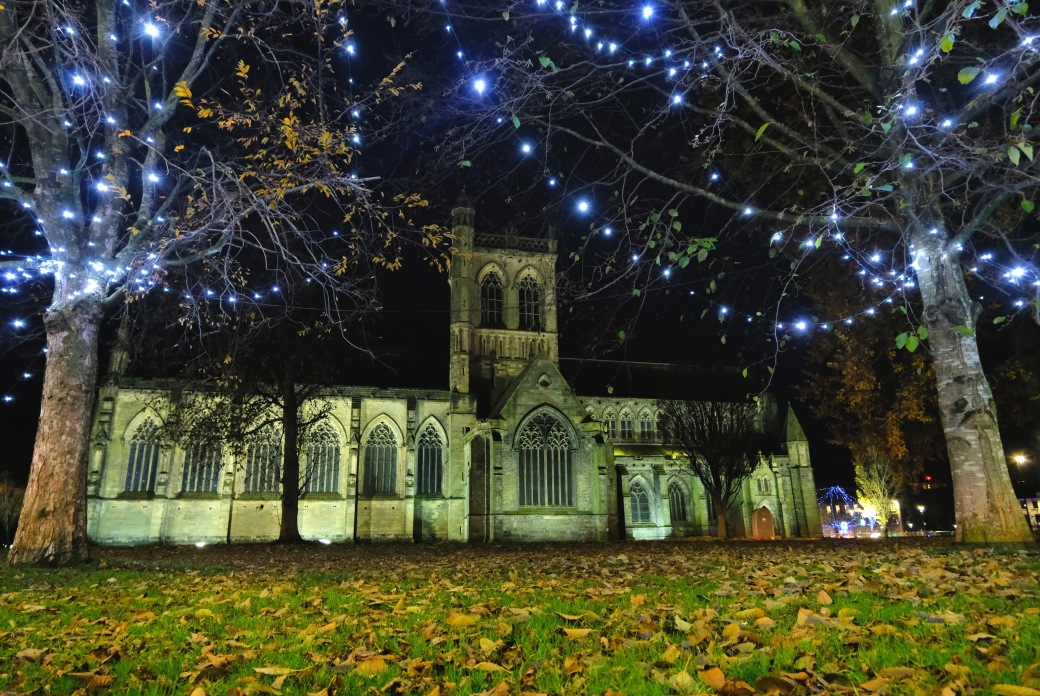 Paisley Abbey at Christmas
