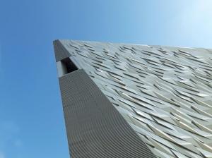 Titanic Belfast facade