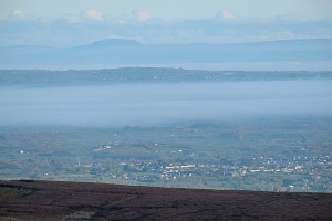 View from the Sperrin Mountains, County Derry